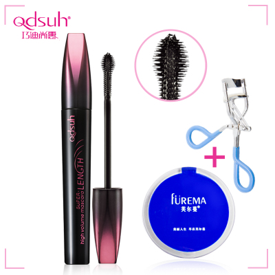 Dishang Hui Qiao Long Mascara 7g Hyun dense thick curly slim waterproof and sweat is not blooming genuine counter