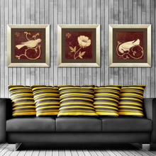 Heart high-grade adornment picture The sitting room of modern framed paintings Sofa setting wall mural that hang a picture Charactizing a fine spring