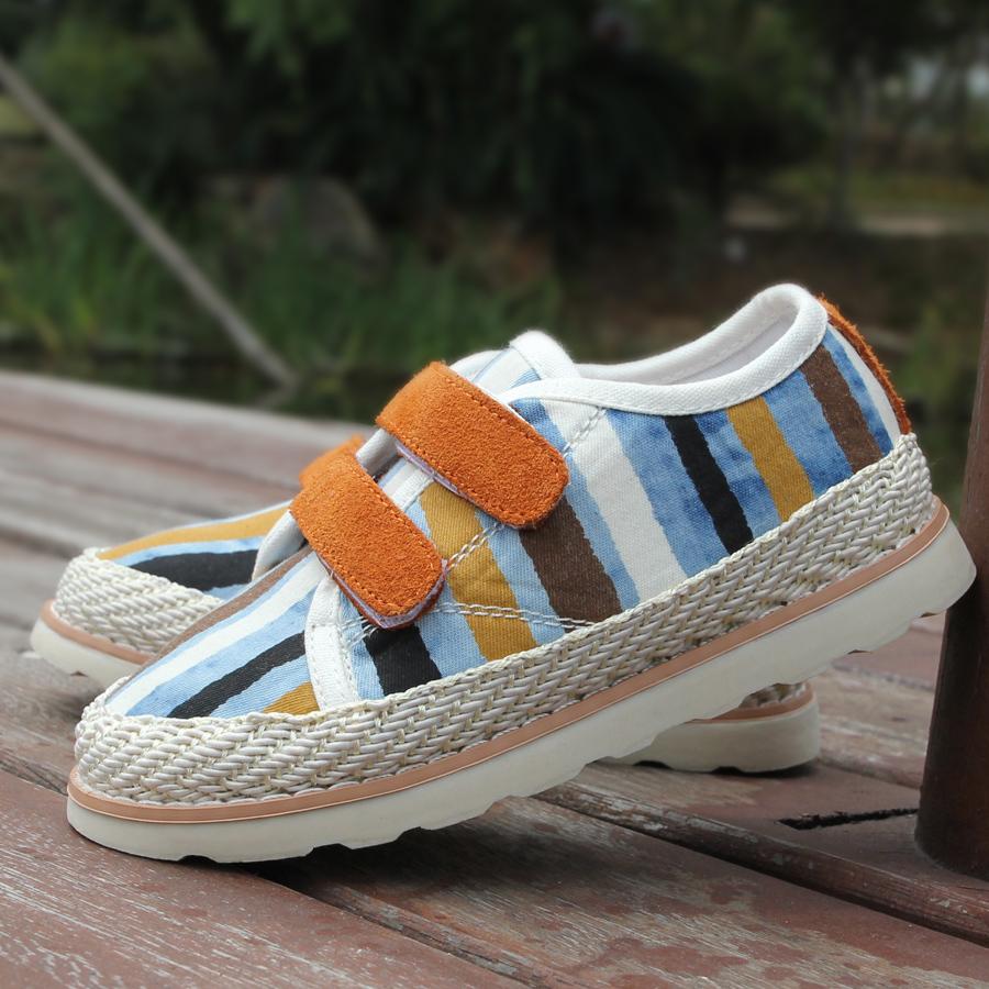 Обувь для родителей и детей With the benefit of ab00105 2013 Сетчатый слой Плоская подошва Липучка