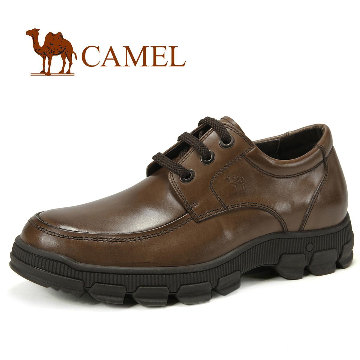 Демисезонные ботинки Camel a2043015. Для отдыха Верхний слой из натуральной кожи Круглый носок Шнурок Весна и осень