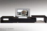 促销顾家厅柜黑色橡木贴皮简约时尚现代电视柜客厅家居热销包邮