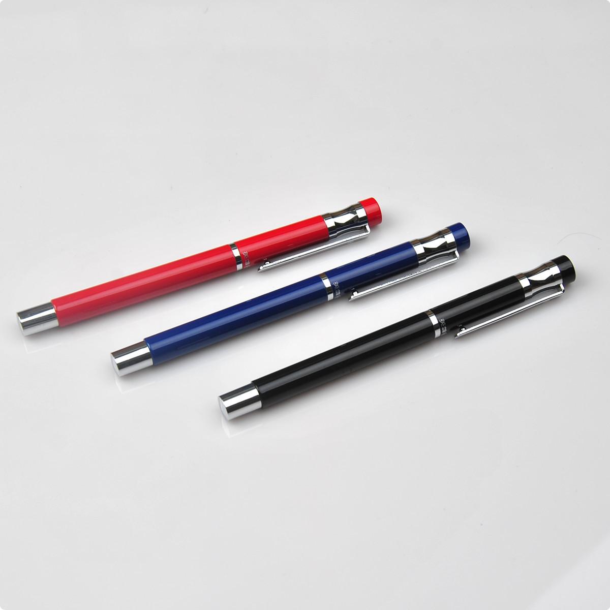 英雄钢笔学生考试用笔 257A超滑特细多彩铱金笔 0.38mm特细墨水笔