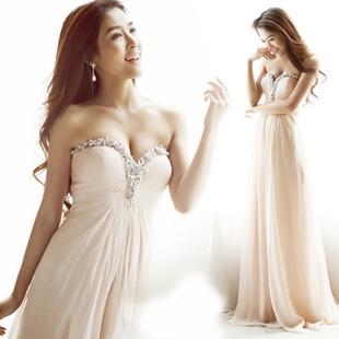 Вечернее платье 2012 Макси-юбка (более 126см)