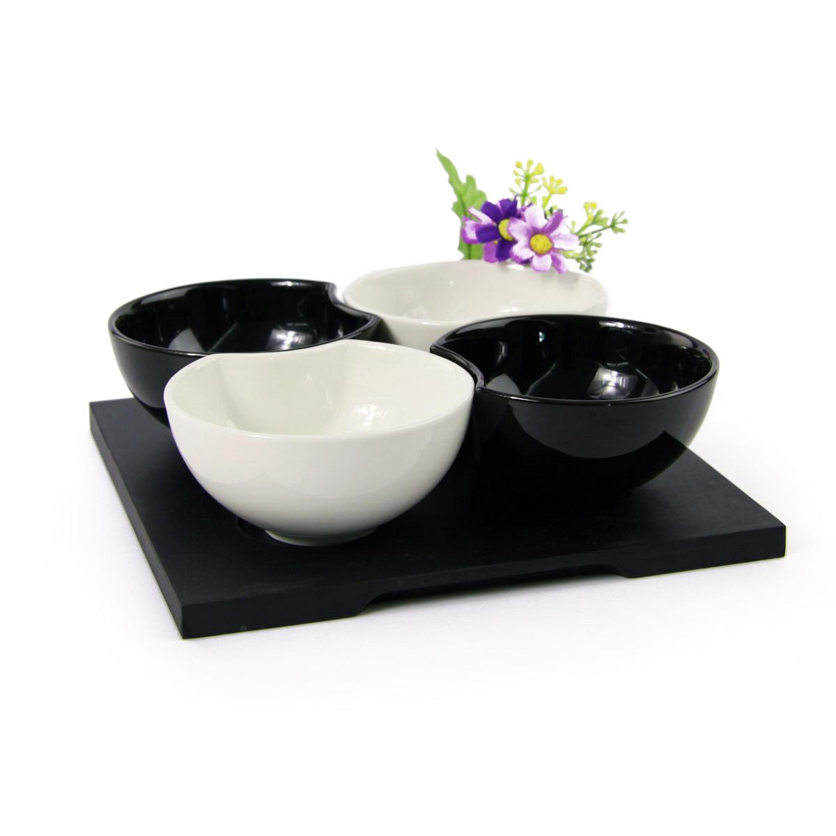 煜日潮州2013日式4人釉下彩餐具瓷器套装 餐饮用具 套餐 厨房