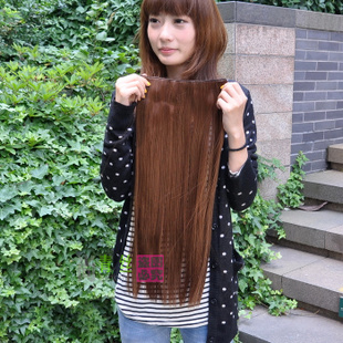 Black hair clip made by  hyper-realistic wigs hair a-5 clips Japan high temperature wire
