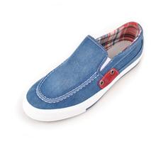回力鞋春秋透气男鞋牛仔布鞋时尚男士帆布鞋一脚穿休闲板鞋懒人鞋图片