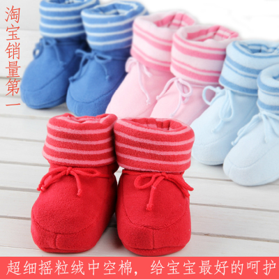 Soft-soled shoes toddler shoes boys shoes baby shoes autumn and winter padded 0-1-2 year-old girl baby shoes