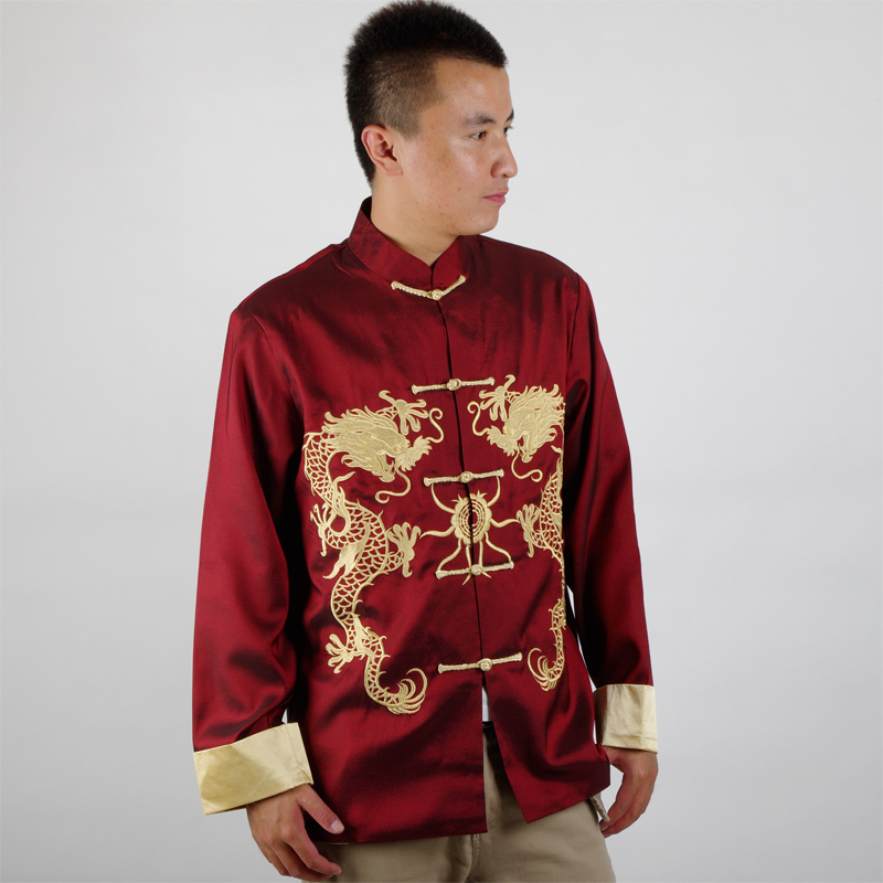 09 Men - T-shirt size M L Chinese New Year Costume