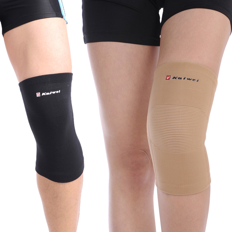 Simian elastic anti-arthritis, Sports Fitness super thin thermal mountaineering men and women basketball knee pads