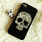 The personality pattern skull cellphone shell iphone4 4S Apple cases sets