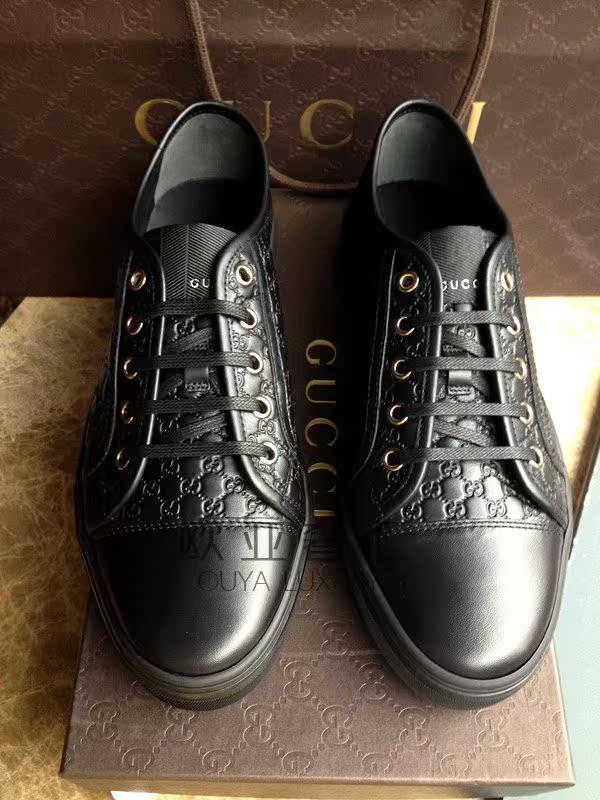Демисезонные ботинки Gucci Logo 310031