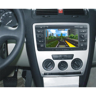Euro-China old and genuine Skoda Octavia special DVD navigation car GPS navigation-one