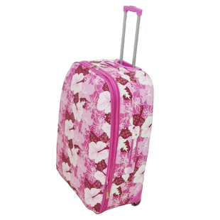 Zero outdoor United Kingdom constellation printed pattern pink flowers travel password 30 26-inch trolley case