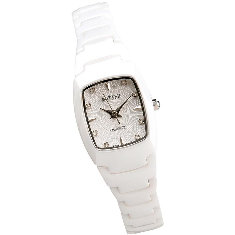 商城正品 MOTAFE/梦达菲女款手表优雅陶瓷系列新款蓝宝石镜面017L