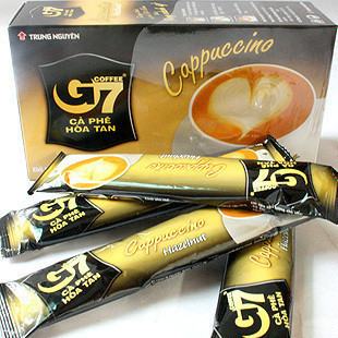 Viet Nam G7 coffee cappuccino coffee central China [Hazel] instant foam coffee in Central Plains 18 grams
