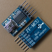 JY-MCU USB转TTL串口mini USB adapter arduino下载线原装FT232RL