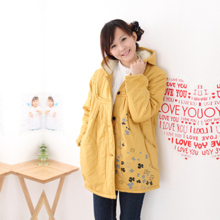 Yi Xiuge maternity dresses Korean upset in autumn and winter coat jacket winter clothes in pregnant women in pregnant women 58,096