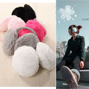Japanese and Korean fashion must-have warm fluffy ears mix down more comfortable headset South Korea 50g