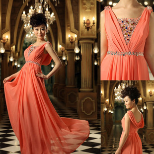 Qingguo toast wedding dress wedding dresses evening dresses wedding dresses red clothing MaxMara 2012 latest LF1-6