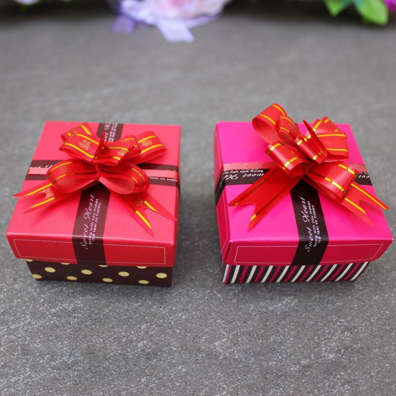 婚庆用品创意喜糖盒 欧式幸福方盒  喜盒 礼品盒子 结婚糖盒用品