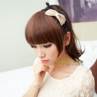 Is non-mainstream black hair wig fringe thicker fringe extended temples on either side fringe wig fringe