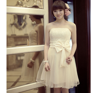 Luxury style Korean new performance Delta short bridal dress bridesmaid clothing suits super low price!