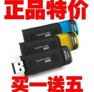 USB накопитель KingSton 32G DT200 64g 128g USB 2.0 32 Гб