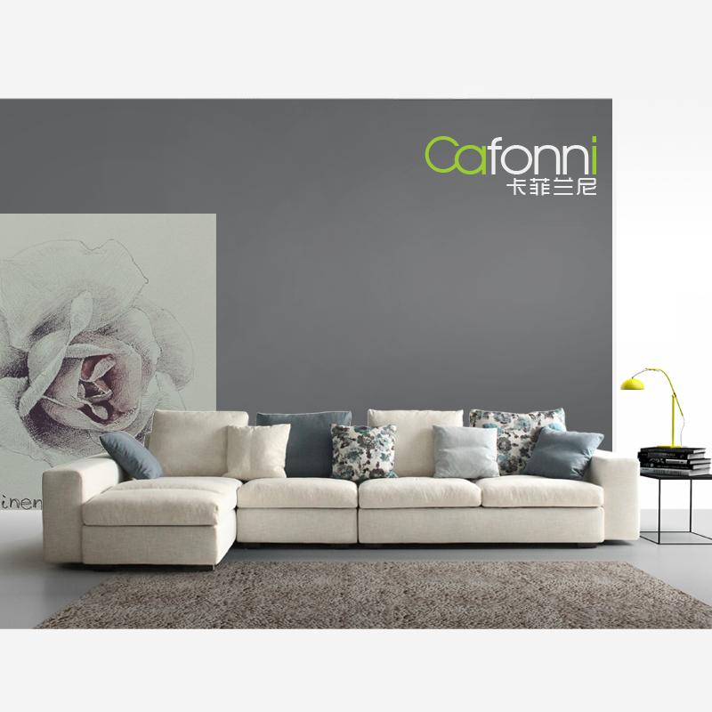 乳胶 布艺沙发图片