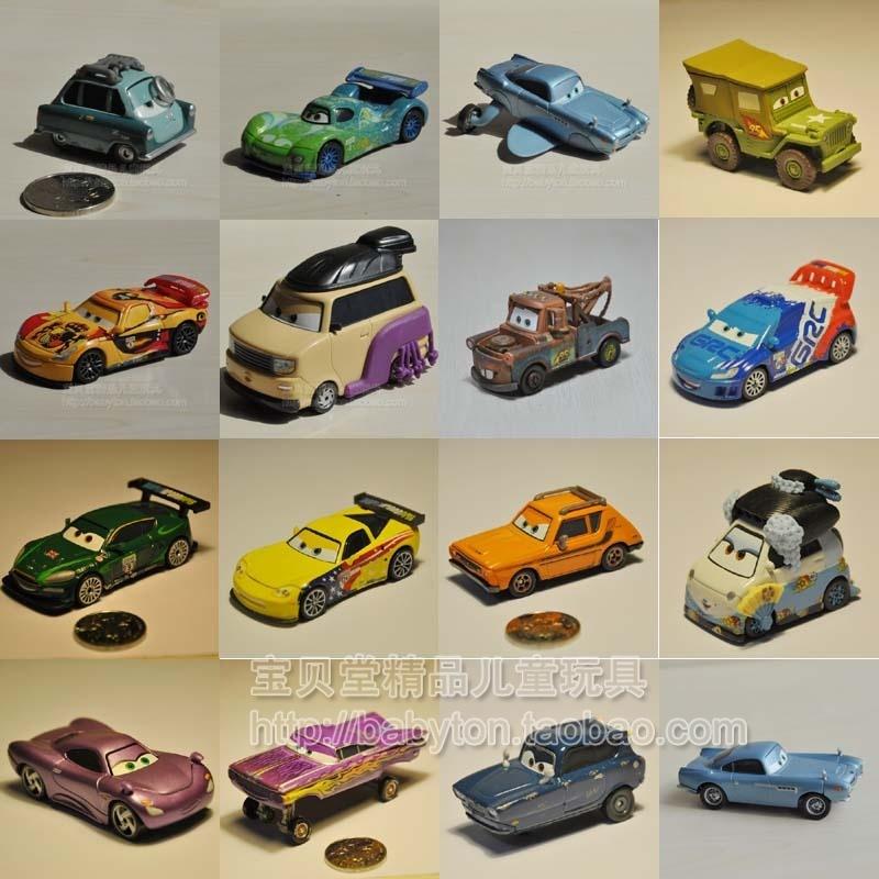 Модель машины Полное сто электронной почте подлинной Дисней Disney Mattel автомобили автомобили 2-сплав двух поколение ультра диапазона