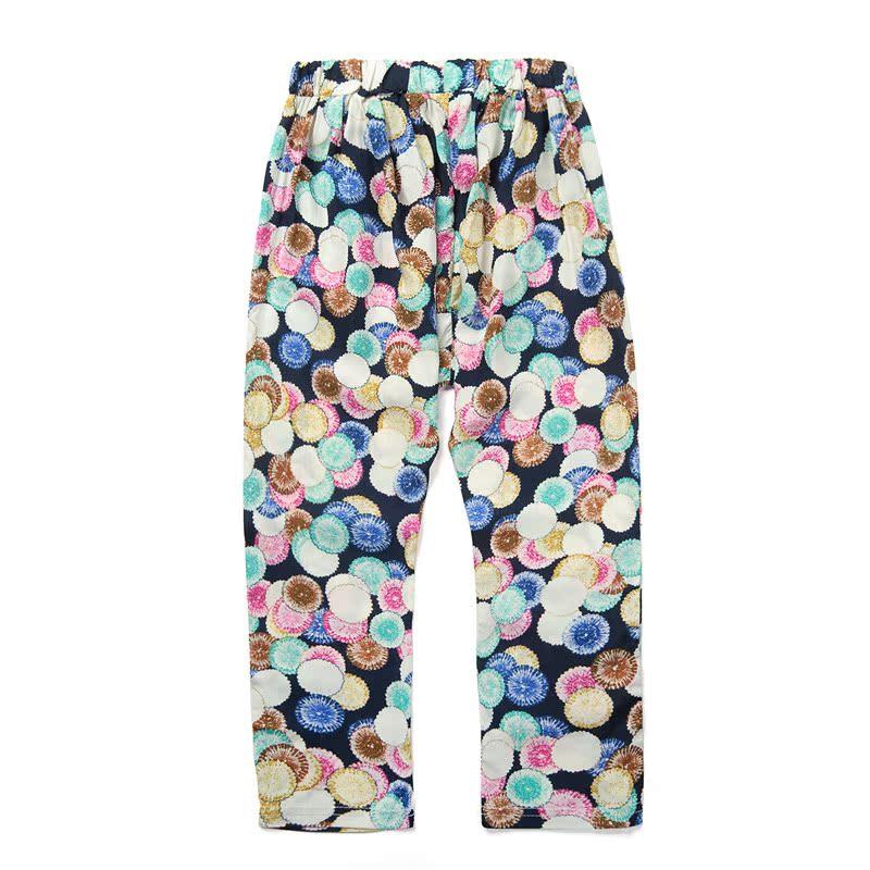童装女童夏装2014裤子儿童花色薄款大童哈伦裤 韩版裤子新款新品