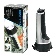 Hand-operated rechargeable flashlight charging light escape hammer lifesaving hammer Auto supplies supermarket