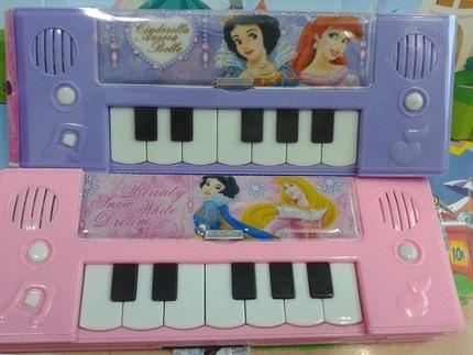 卡通动物特价电子琴钢琴铅笔盒塑料儿童礼物男女韩国可爱包邮