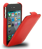 New solid color Apple 4S cellphone shell iphone44s shell the clamshell holster up and down open