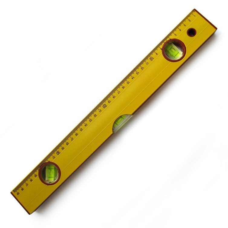 锦丰五金 400mm 铝合金带磁性高档水平尺/15寸平水尺