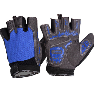 Cycling gloves shock ventilation