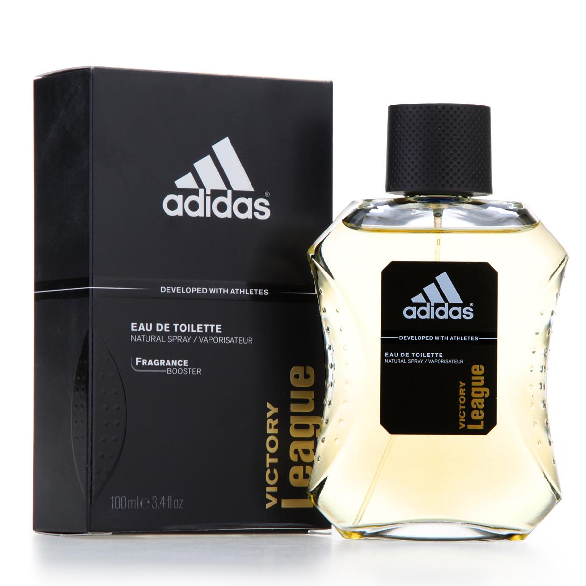 adidas /阿迪达斯 专柜正品 edt 征服男士香水100ml