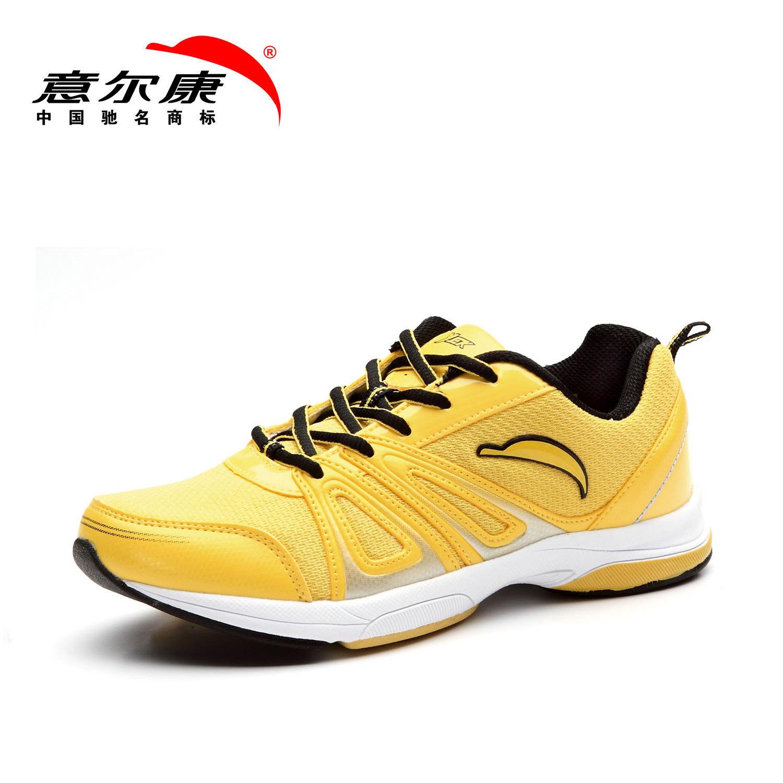 促销意尔康运动鞋 女鞋 正品夏季网面透气舒适轻便网跑鞋 2505330