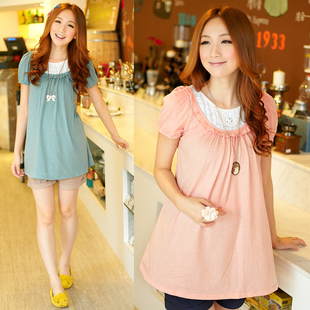 Yi Xiuge maternity dresses summer new Korean cotton loose women t-shirt t-shirt S9061