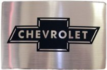 Ремень   CHEVROLET LOGO Brushed Steel Belt Buc