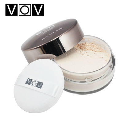 Korea VOV Refreshing silky silk protein powder 50g perfect moisturizing oil control conservation dingzhuang nude makeup concealer