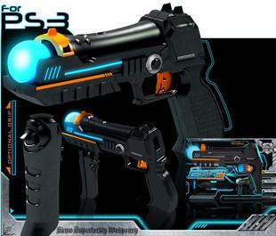 Подставка Оптовая PS3 убить зоны 3 пушки левый маркер перемещения правой обработки пушки перевозки пистолет-пулемет