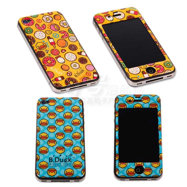 Креативные наклейки Hong Kong smek luft  68 Semk B.Duck Iphone 4/4s