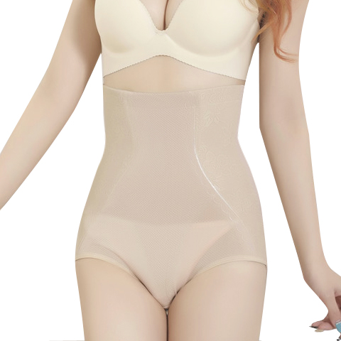 The summer of ultra-thin traceless cotton received gastric hip shaping pants pants waist slimming postpartum abdomen hips female underwear