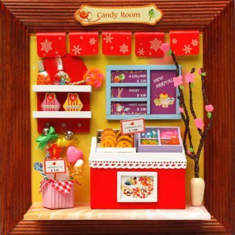 Цвет: 28 конфеты дома