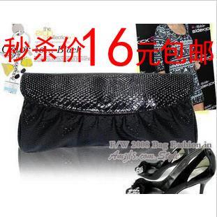 韩版2012夏季新款糖果色链条小潮手包复古信封包单肩斜跨包女包包