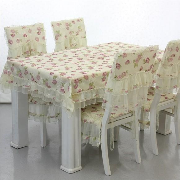 Салфетки на стулья своими руками