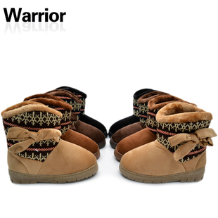 Shanghai of female money back snow boots cotton padded boots boots and a half canister boots warm outdoor warm shoes 1008