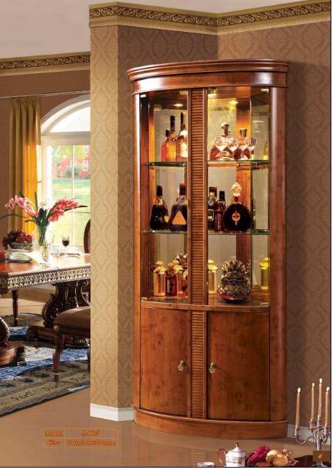 corner curio cabinet plans | Furniture Woodworking Plans
