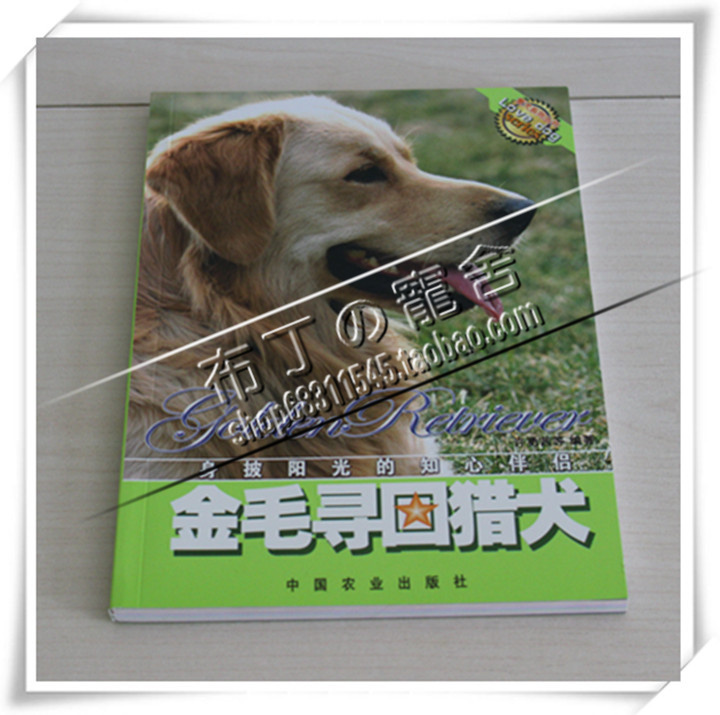 Golden Retriever dog training book back to golden hair color Beagle dedicated the book books on dog feeding dog training books