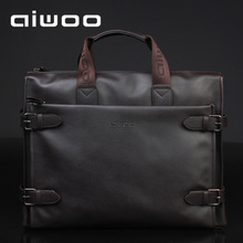 8 inch ipad3 aiwoo laptop bag 10 inch 12 inch 14 15 inches Men's briefcase